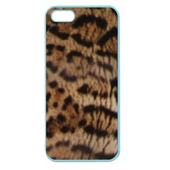 Ocelot Coat Apple Seamless Iphone 5 Case (color) by BrilliantArtDesigns