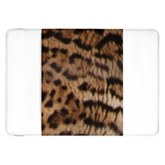 Ocelot Coat Samsung Galaxy Tab 8 9  P7300 Flip Case by BrilliantArtDesigns