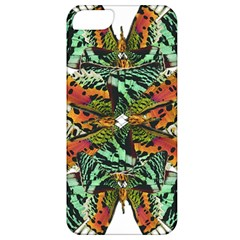 Butterfly Art Green & Orange Apple Iphone 5 Classic Hardshell Case by BrilliantArtDesigns