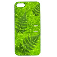 Leaf & Leaves Apple Iphone 5 Hardshell Case With Stand by BrilliantArtDesigns