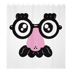 Shower Undercover! Shower Curtain 66  X 72  (large) by Contest1771648