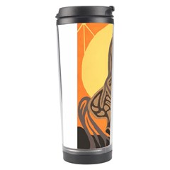 Embracing The Moon Travel Tumbler