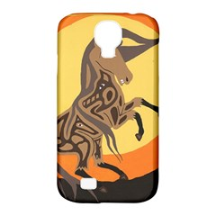 Embracing The Moon Samsung Galaxy S4 Classic Hardshell Case (pc+silicone) by twoaboriginalart