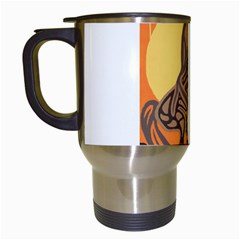 Embracing The Moon Copy Travel Mug (white) by twoaboriginalart