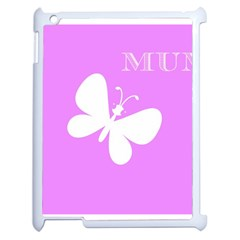 Mom Apple Ipad 2 Case (white) by Colorfulart23