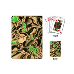 Retro Swirl Playing Cards (mini) by Colorfulart23