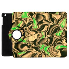 Retro Swirl Apple Ipad Mini Flip 360 Case by Colorfulart23