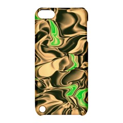 Retro Swirl Apple Ipod Touch 5 Hardshell Case With Stand by Colorfulart23