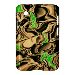 Retro Swirl Samsung Galaxy Tab 2 (7 ) P3100 Hardshell Case  by Colorfulart23