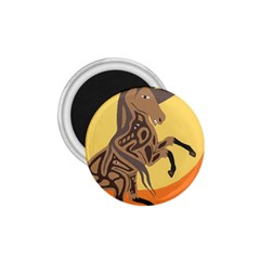 Embracing The Moon 1 75  Button Magnet by twoaboriginalart