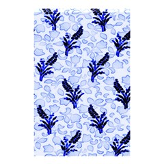 Double Blue Shower Curtain 48  X 72  (small)