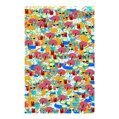 Summer Spa Vacation Shower Curtain 48  X 72  (small)