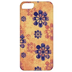 Funky Floral Art Apple Iphone 5 Classic Hardshell Case by Colorfulart23