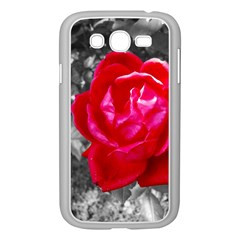Red Rose Samsung Galaxy Grand Duos I9082 Case (white)