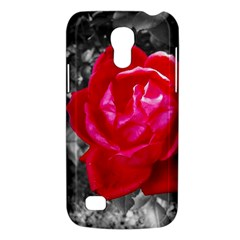 Red Rose Samsung Galaxy S4 Mini (gt I9190) Hardshell Case  by jotodesign