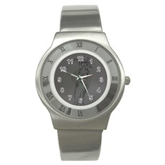 Witchy Stainless Steel Watch (slim) by WispsofFantasy