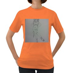 Mischevious Women s T-shirt (colored) by WispsofFantasy