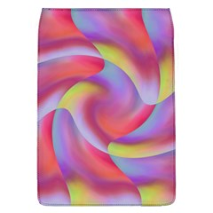 Colored Swirls Removable Flap Cover (large) by Colorfulart23
