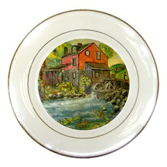 Daniels Mill   Ave Hurley   Porcelain Display Plate by ArtRave2