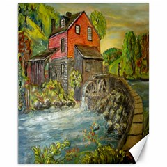 Daniels Mill   Ave Hurley   Canvas 11  X 14  (unframed) by ArtRave2