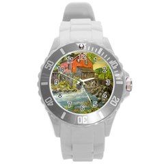 Daniels Mill   Ave Hurley   Plastic Sport Watch (large) by ArtRave2