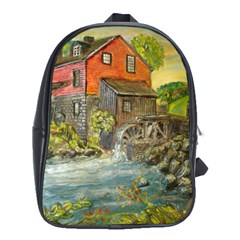 Daniels Mill   Ave Hurley   School Bag (xl) by ArtRave2