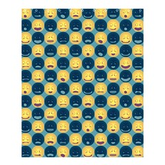 Smiley Crowd Shower Curtain 60  X 72  (medium) by Contest1831200