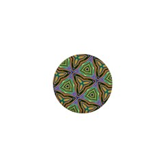 Elegant Retro Art 1  Mini Button Magnet by Colorfulart23