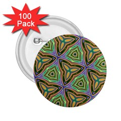 Elegant Retro Art 2 25  Button (100 Pack)