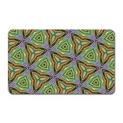Elegant Retro Art Magnet (rectangular) by Colorfulart23