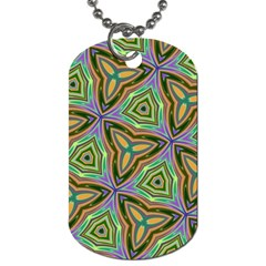 Elegant Retro Art Dog Tag (two-sided)  by Colorfulart23
