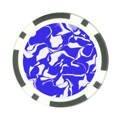 Swirl Poker Chip by Colorfulart23