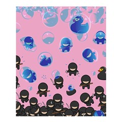 Ninja Style Shower Curtain 60  X 72  (medium) by Contest1856784