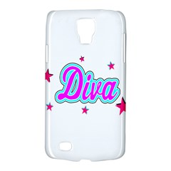 Pink Diva Samsung Galaxy S4 Active (i9295) Hardshell Case by Colorfulart23