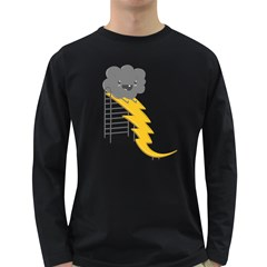 Ride The Lightning! Men s Long Sleeve T-shirt (dark Colored) by Contest1861806