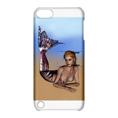 Mermaid On The Beach  Apple Ipod Touch 5 Hardshell Case With Stand by goldenjackal