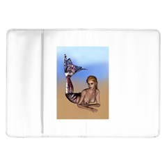 Mermaid On The Beach  Samsung Galaxy Tab 10 1  P7500 Flip Case