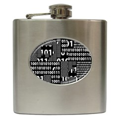 Beauty Of Binary Hip Flask by StuffOrSomething