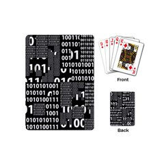 Beauty Of Binary Playing Cards (mini)