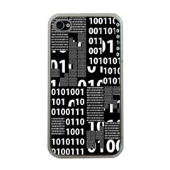 Beauty Of Binary Apple Iphone 4 Case (clear)