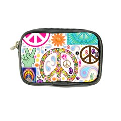 Peace Collage Coin Purse