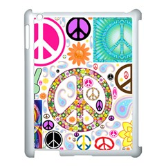 Peace Collage Apple Ipad 3/4 Case (white) by StuffOrSomething