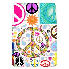 Peace Collage Removable Flap Cover (large) by StuffOrSomething