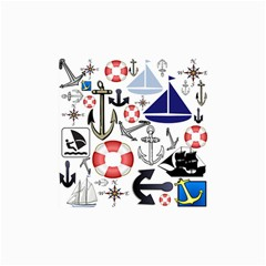 Nautical Collage Canvas 36  X 48  (unframed) by StuffOrSomething