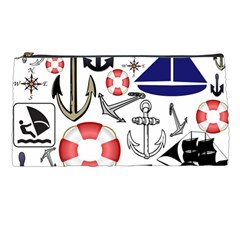 Nautical Collage Pencil Case by StuffOrSomething