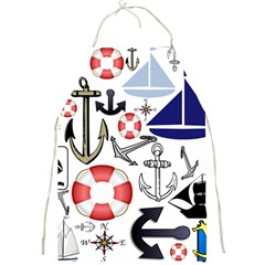 Nautical Collage Apron by StuffOrSomething