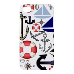 Nautical Collage Apple Iphone 4/4s Hardshell Case by StuffOrSomething