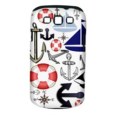Nautical Collage Samsung Galaxy S Iii Classic Hardshell Case (pc+silicone)