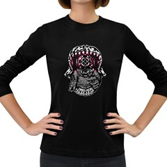 Undead Aquanaut Women s Long Sleeve T Shirt (dark Colored)
