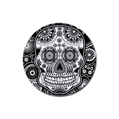 Sugar Skull Drink Coasters 4 Pack (round)